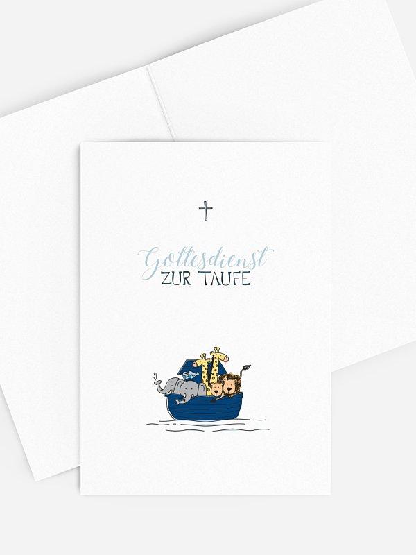 Kirchenheft Taufe Alle an Bord