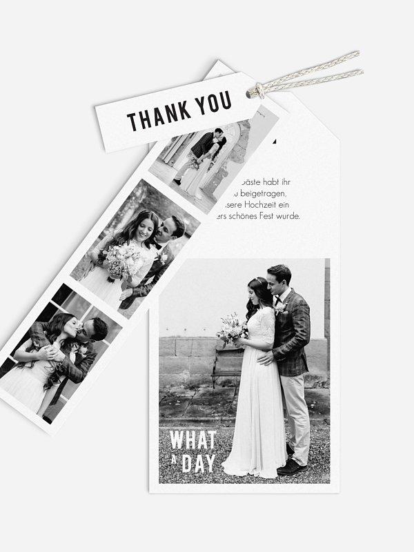 Dankeskarte Hochzeit You & Me