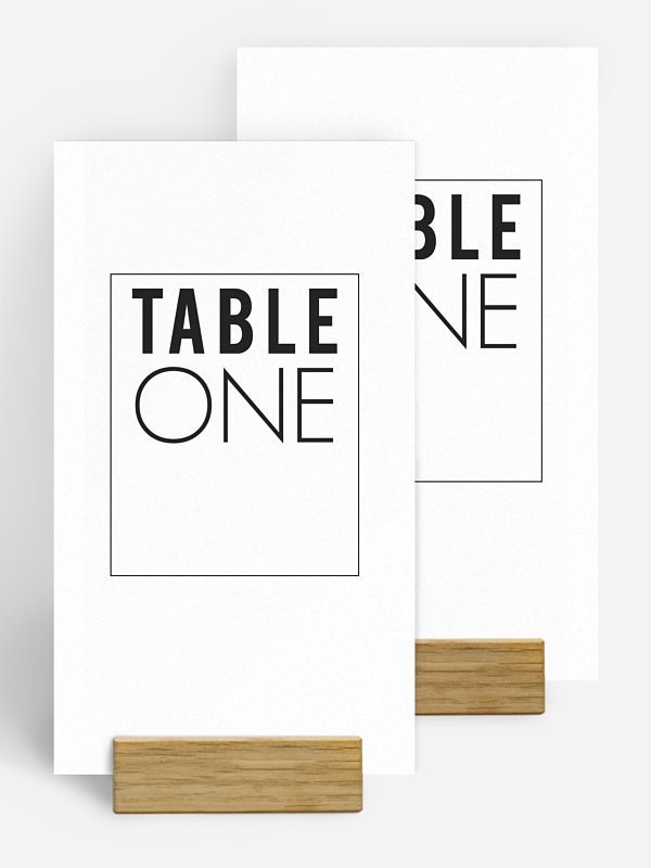 Tischnummer You & Me