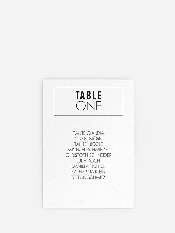 Sitzplan Kreativ You & Me