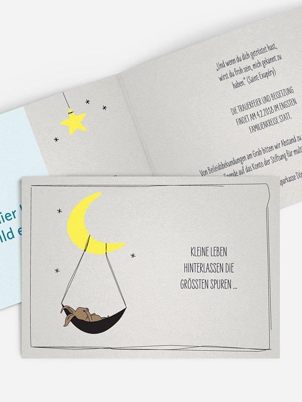 Trauerkarte Träume
