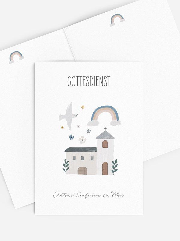 Kirchenheft Taufe Kleine Kirche