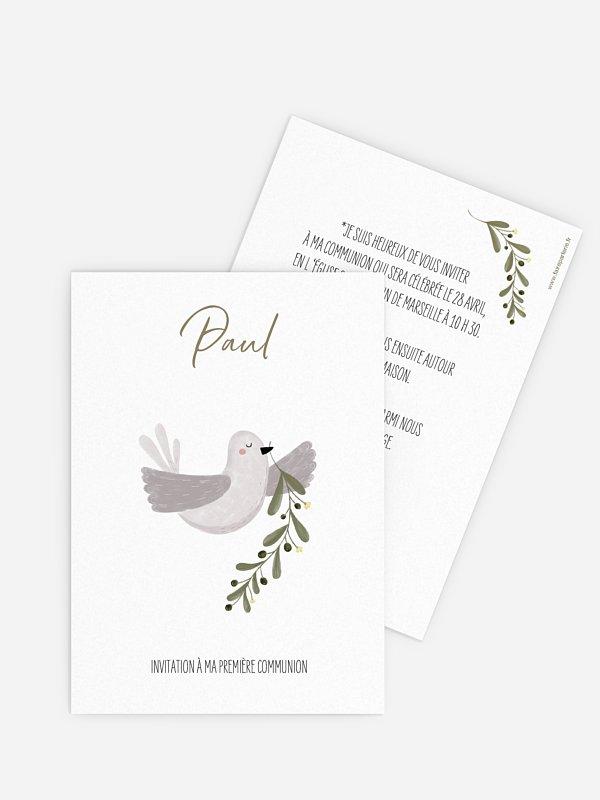Invitation communion Messager de paix
