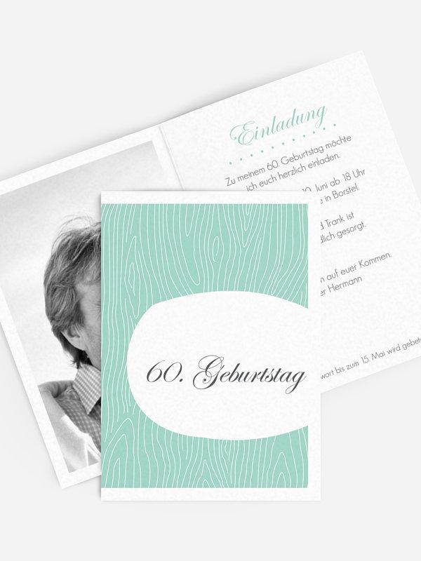 Einladung 60. Geburtstag Grove