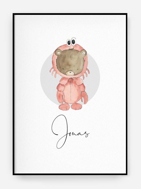 Poster Geburt Sternzeichen