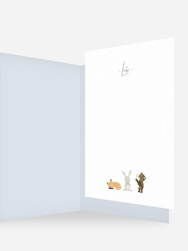 Einlegeblätter Tierchen Trio