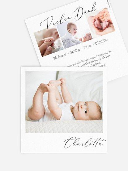 """Geburtskarte """"Kleines Wunder"""""""