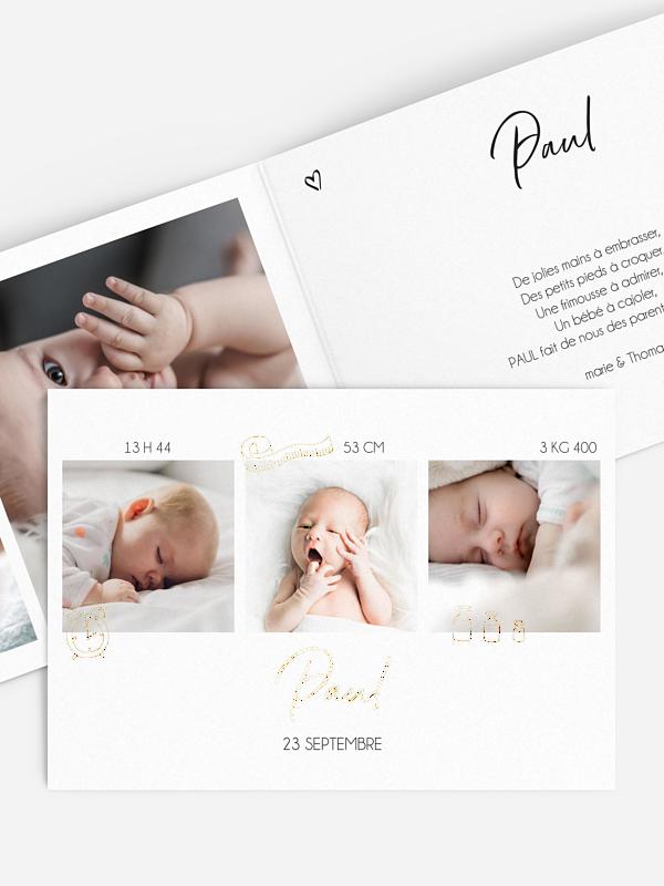 Faire-part naissance Perfect baby