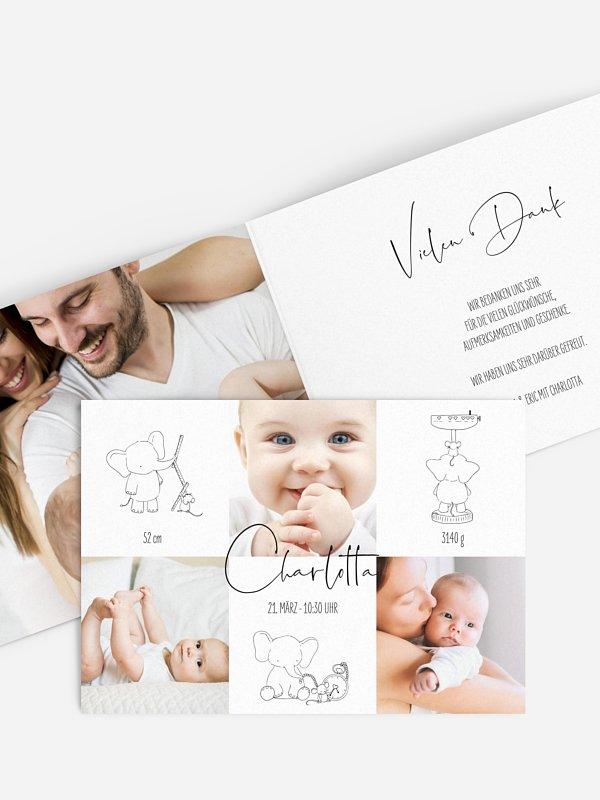 Geburtskarte Beste Freunde