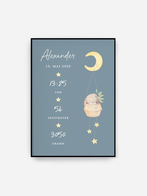 Poster Geburt Süße Träume