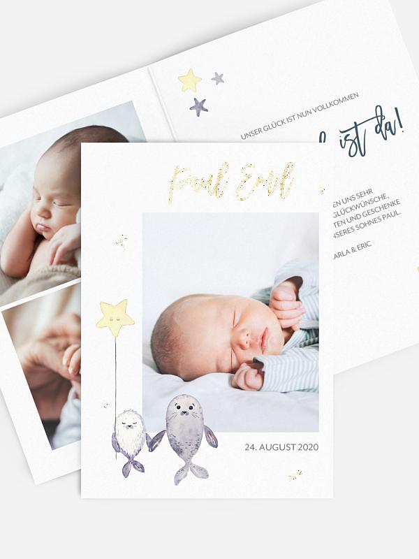 Geburtskarte Süßer Schatz