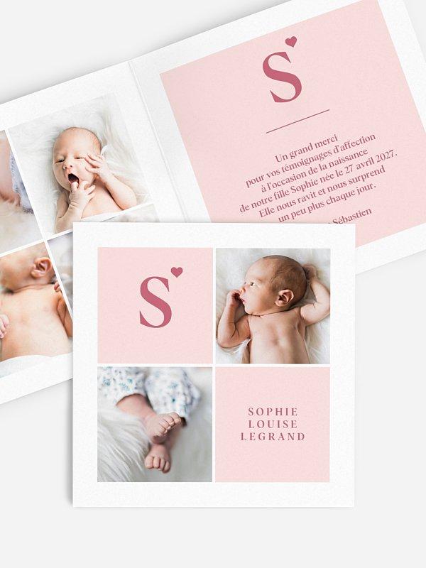 Faire-part naissance Little Love