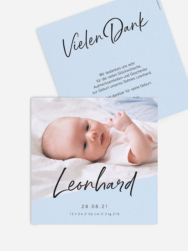 Geburtskarte Beautiful News