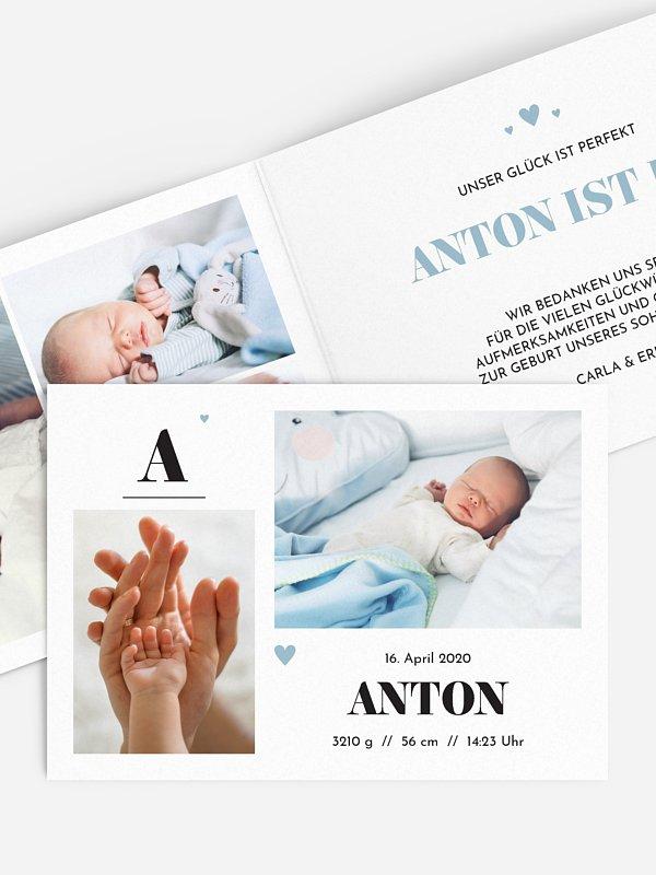 Geburtskarte Kleines Leben
