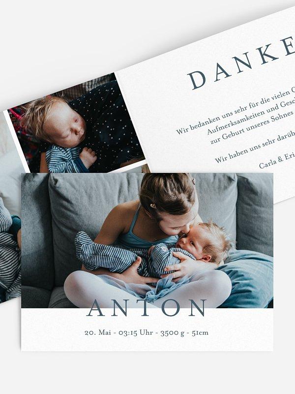 Geburtskarte Lieblingsbilder