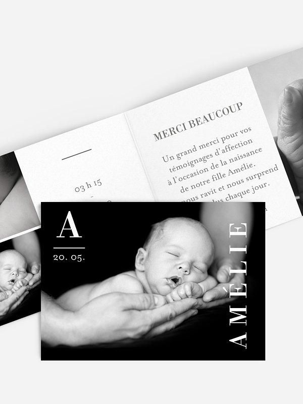 Faire-part naissance Présentation