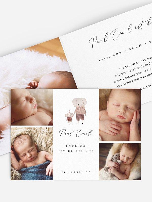 Geburtskarte Beschützer
