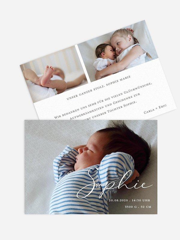 Geburtskarte Perfect Picture