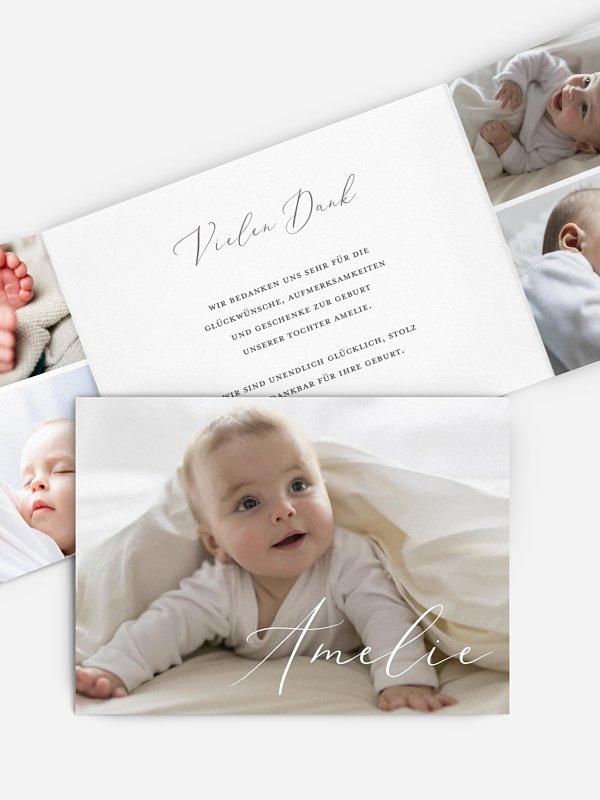 Geburtskarte Pure Happiness