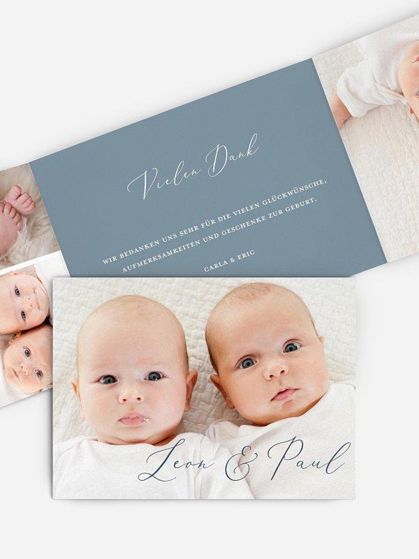 Zwillingskarte Pure Happiness
