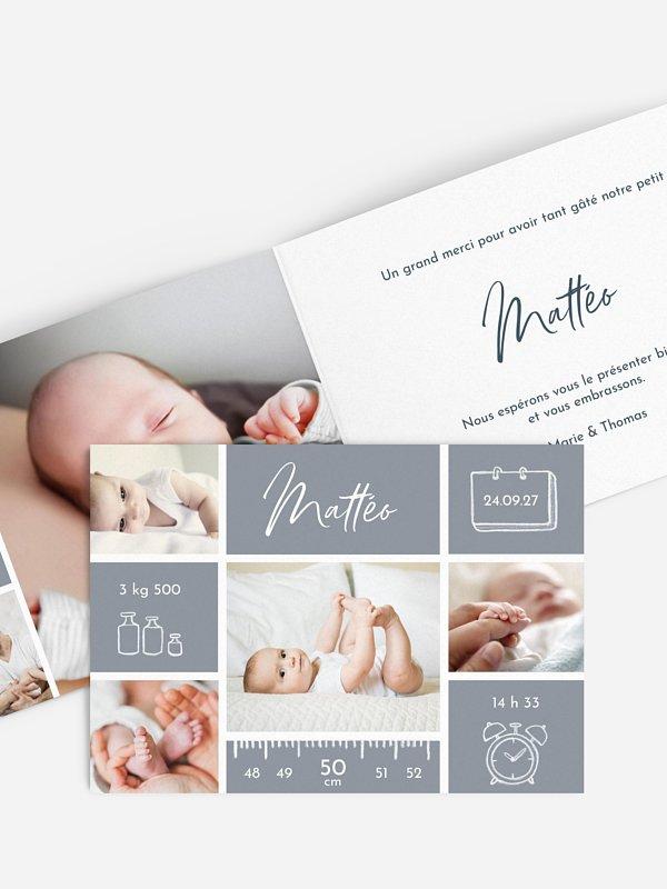 Faire-part naissance Petite merveille