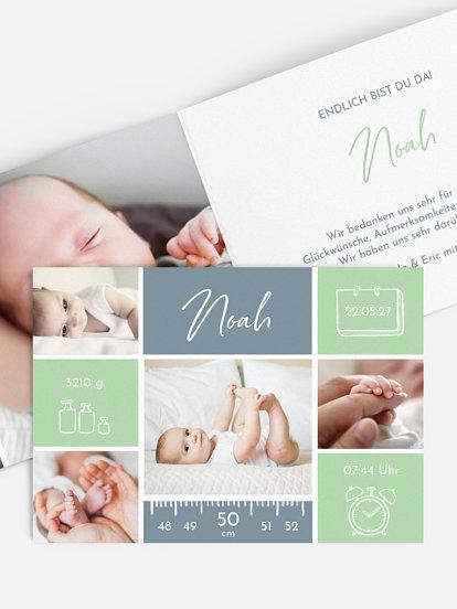 """Geburtskarte """"Babywunder"""""""