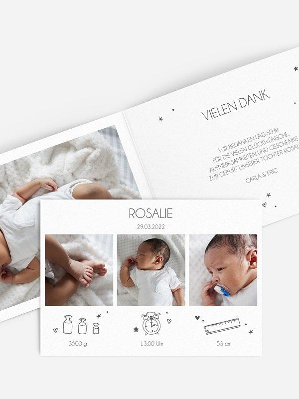 Geburtskarte Bundle of Joy