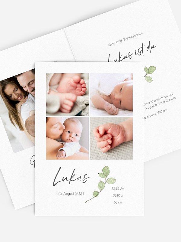 Geburtskarte Birth Branch