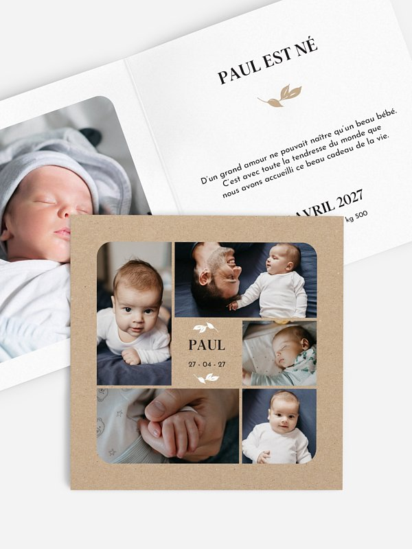 Faire-part naissance Baby Gallery