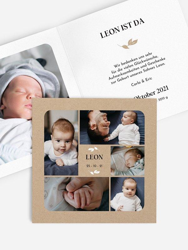 Geburtskarte Baby Gallery
