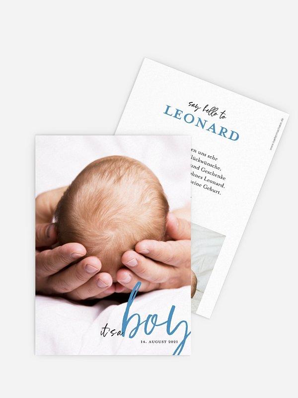 Geburtskarte It´s a ...