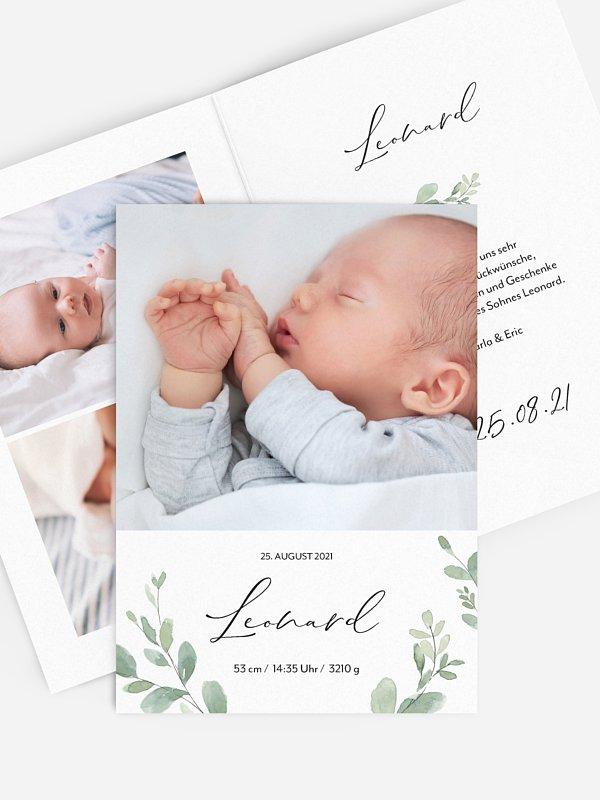 Geburtskarte Liebevoll