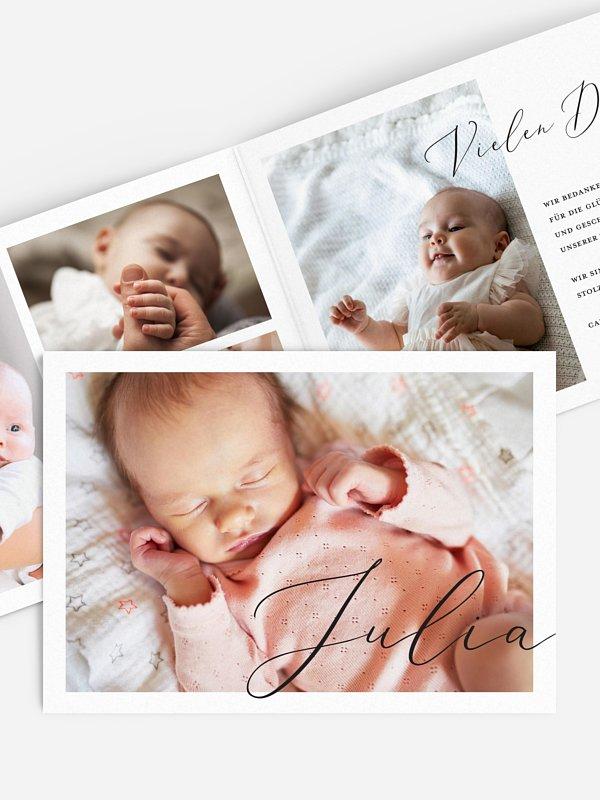 Geburtskarte Dream away