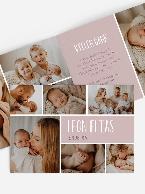 Geburtskarte Lichtblick