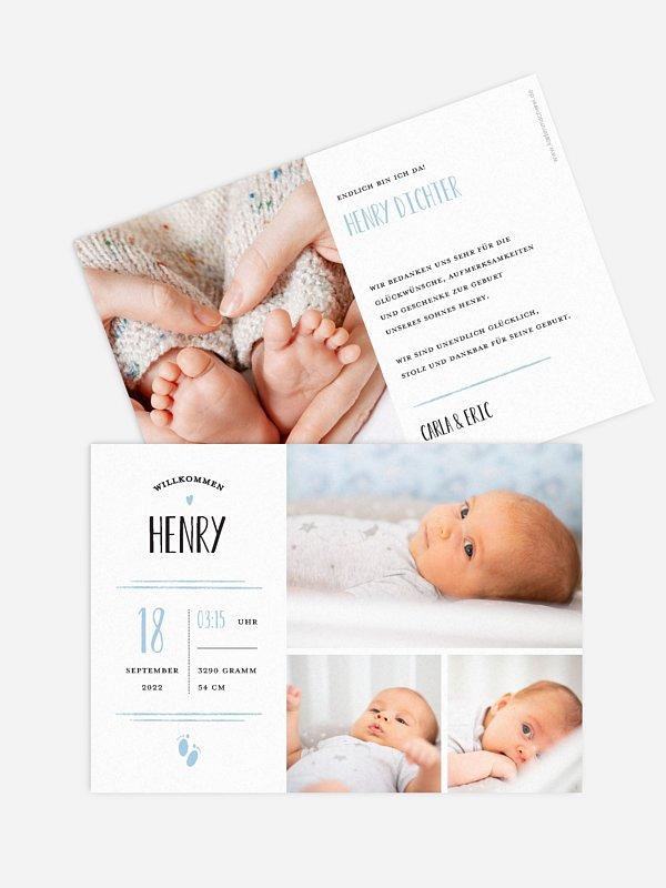 Geburtskarte Brightest Gift