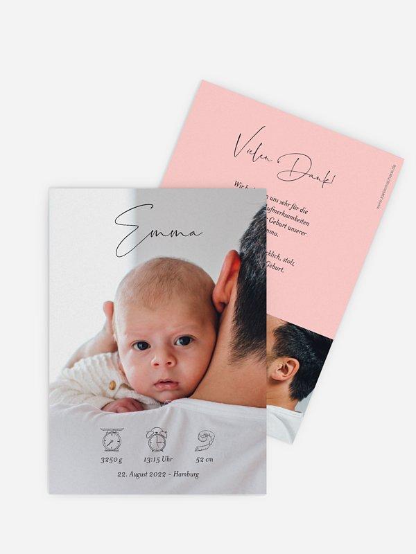 Geburtskarte Naseweis