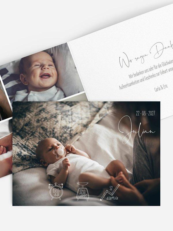 Geburtskarte Fairy Dust