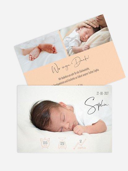 "Geburtskarte ""Fairy Dust"""