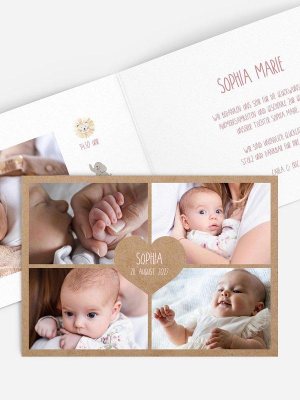 Geburtskarte Ahoi