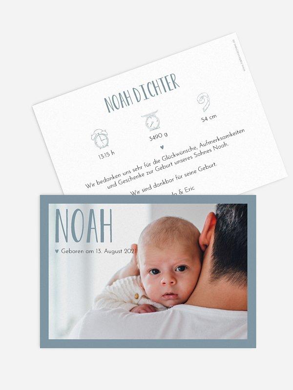Geburtskarte So in Love