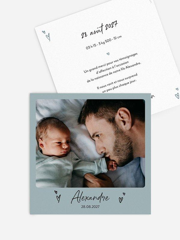 Faire-part naissance Frimousse