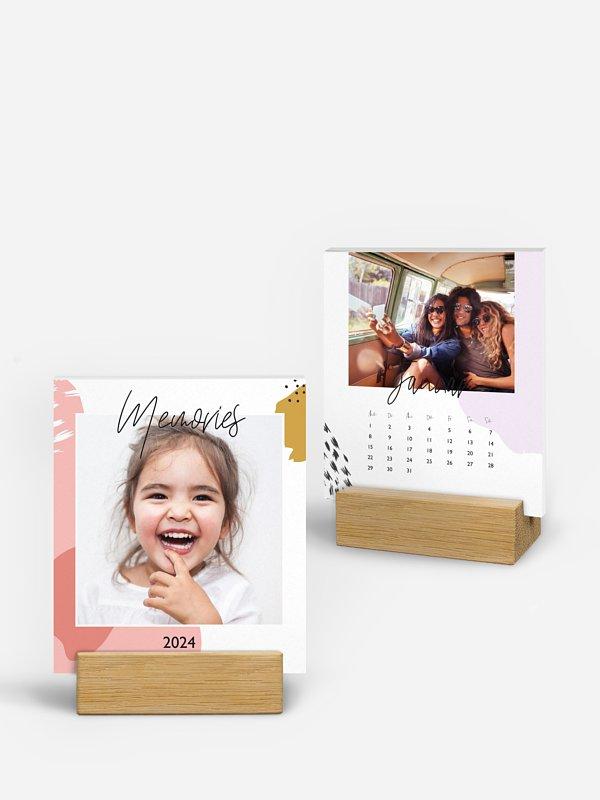 Tischkalender Farbklecks
