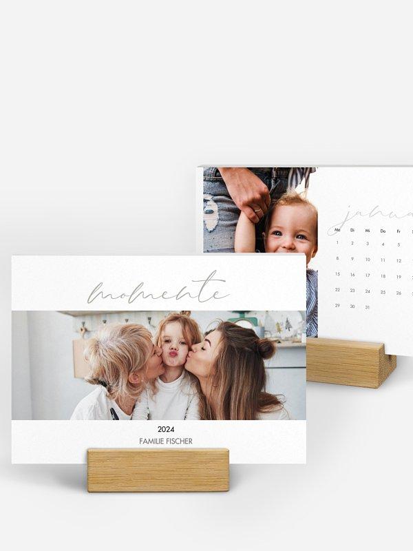 Tischkalender Gold Momente