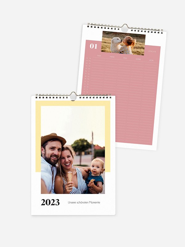 Familienkalender Happiness