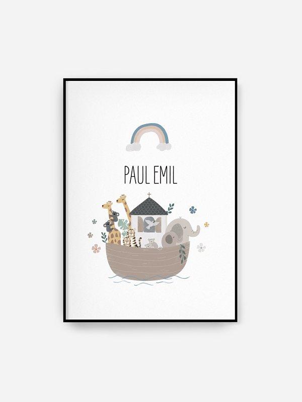 Poster Geburt Tierchen Reise