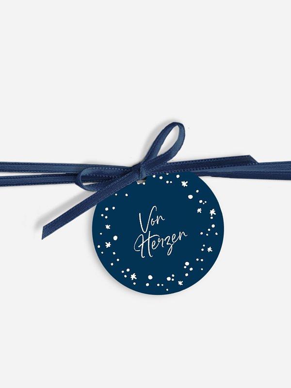 Geschenkeanhänger Weihnachtspracht