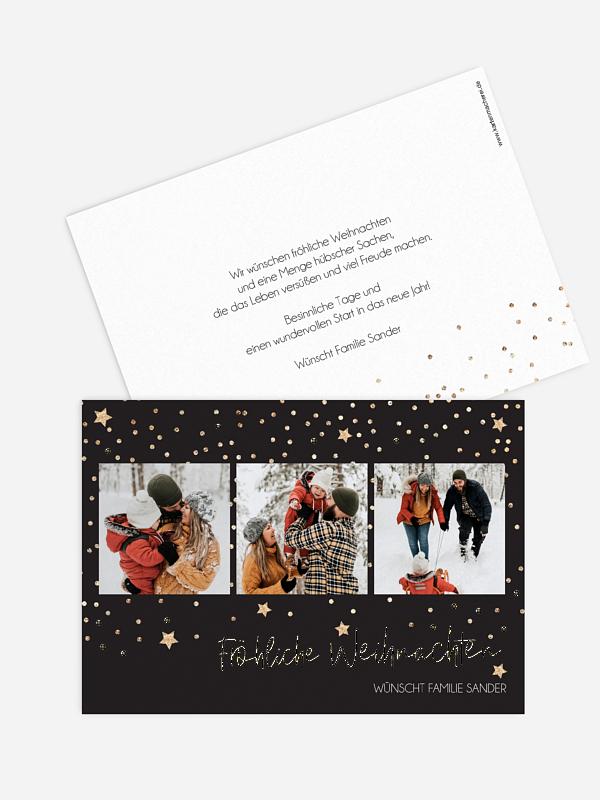 Weihnachtskarte Christmas Miracle