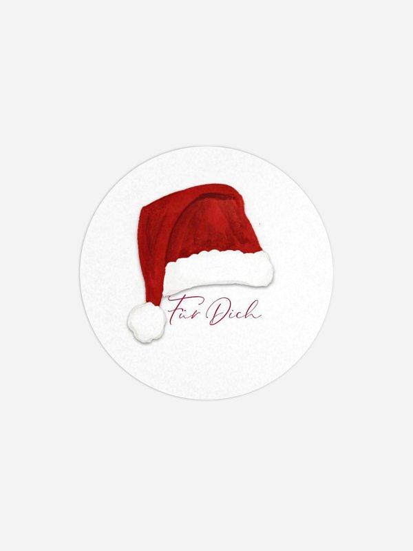 Geschenkaufkleber Weihnachten Weihnachtswichtel