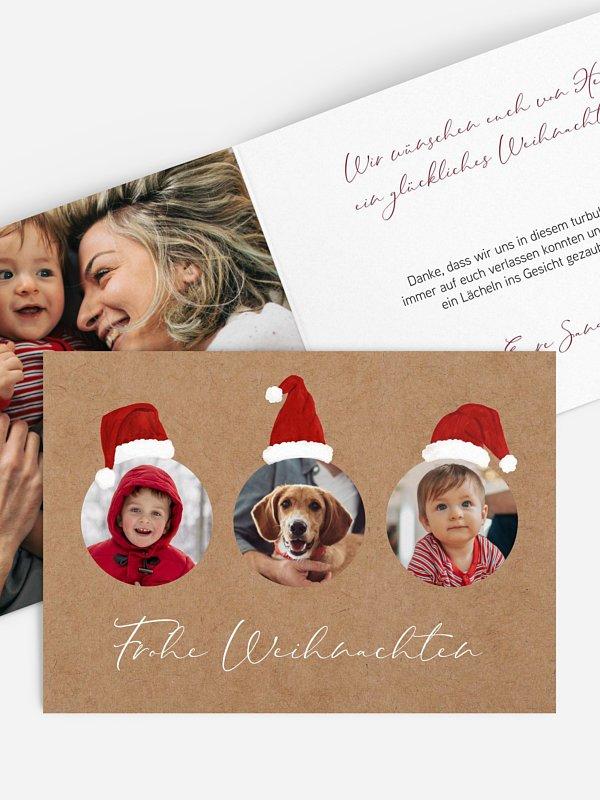 Weihnachtskarte Weihnachtswichtel
