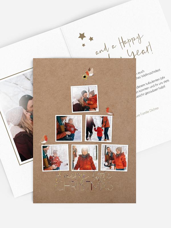 Weihnachtskarte Picture Tree